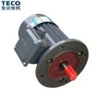 TECO东元低噪音卧式断电刹车马达4极防爆电机