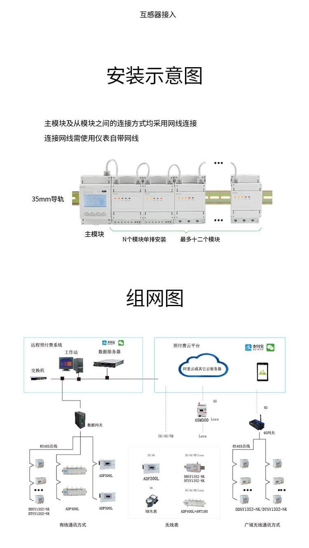 安科瑞ADF400L多用户电能表_09